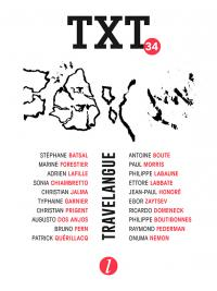 TXT n°34 TRAVELANGUE, Éditions Lurlure